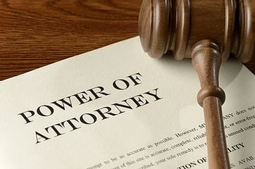 Document titled Power of Attorney