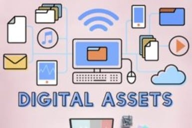 Diagram of digital assets