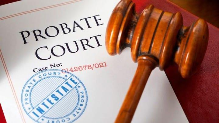 Probate Court Document