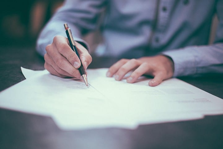 Lawyer Writing a Life Plan