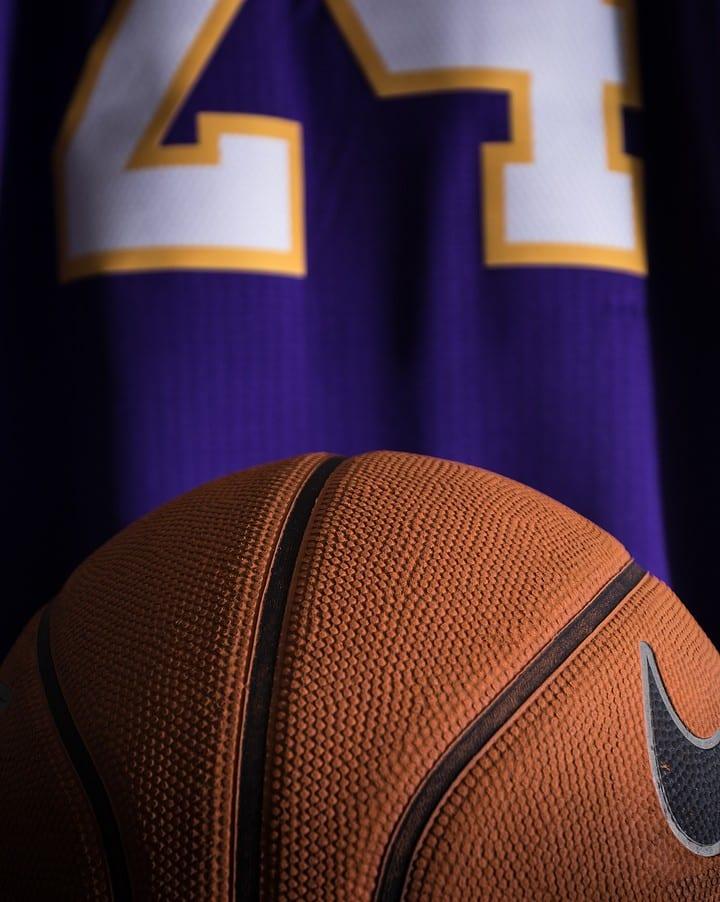 Kobe Bryant Basketball and Jersey