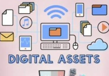 Diagram of digital assets