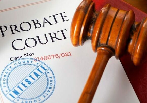 Probate Court Document