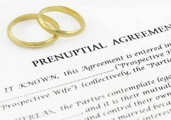 Prenuptial Agreement Document